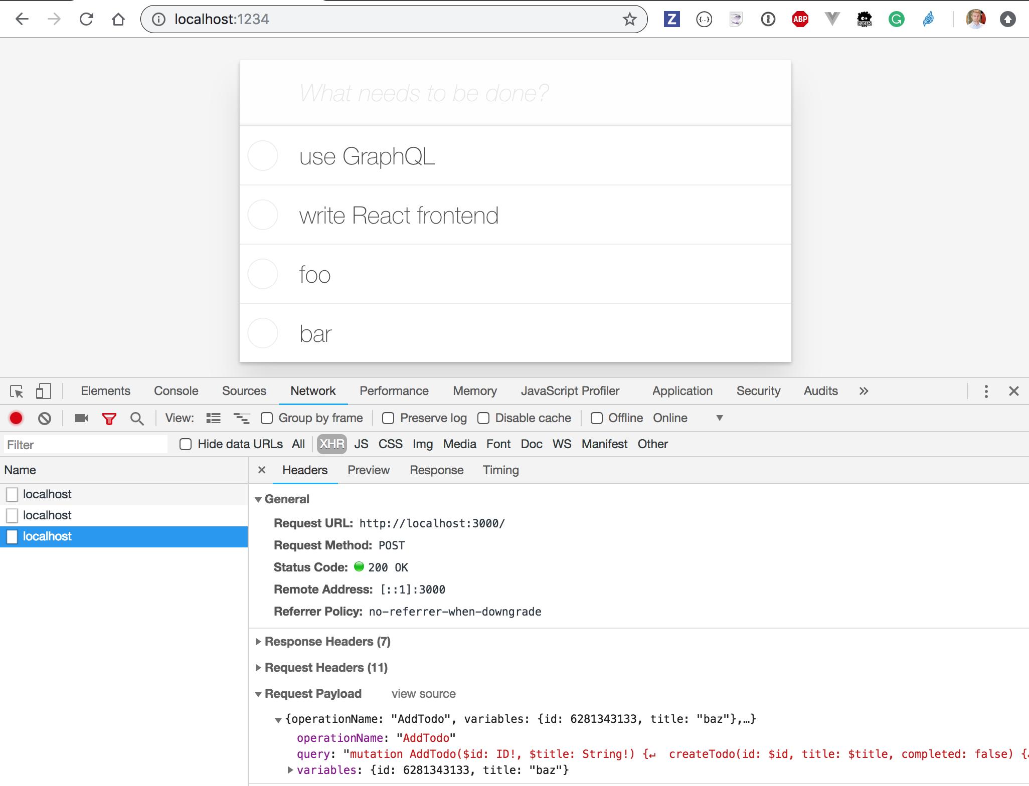 E2E Testing json-graphql-server using Cypress | Better world