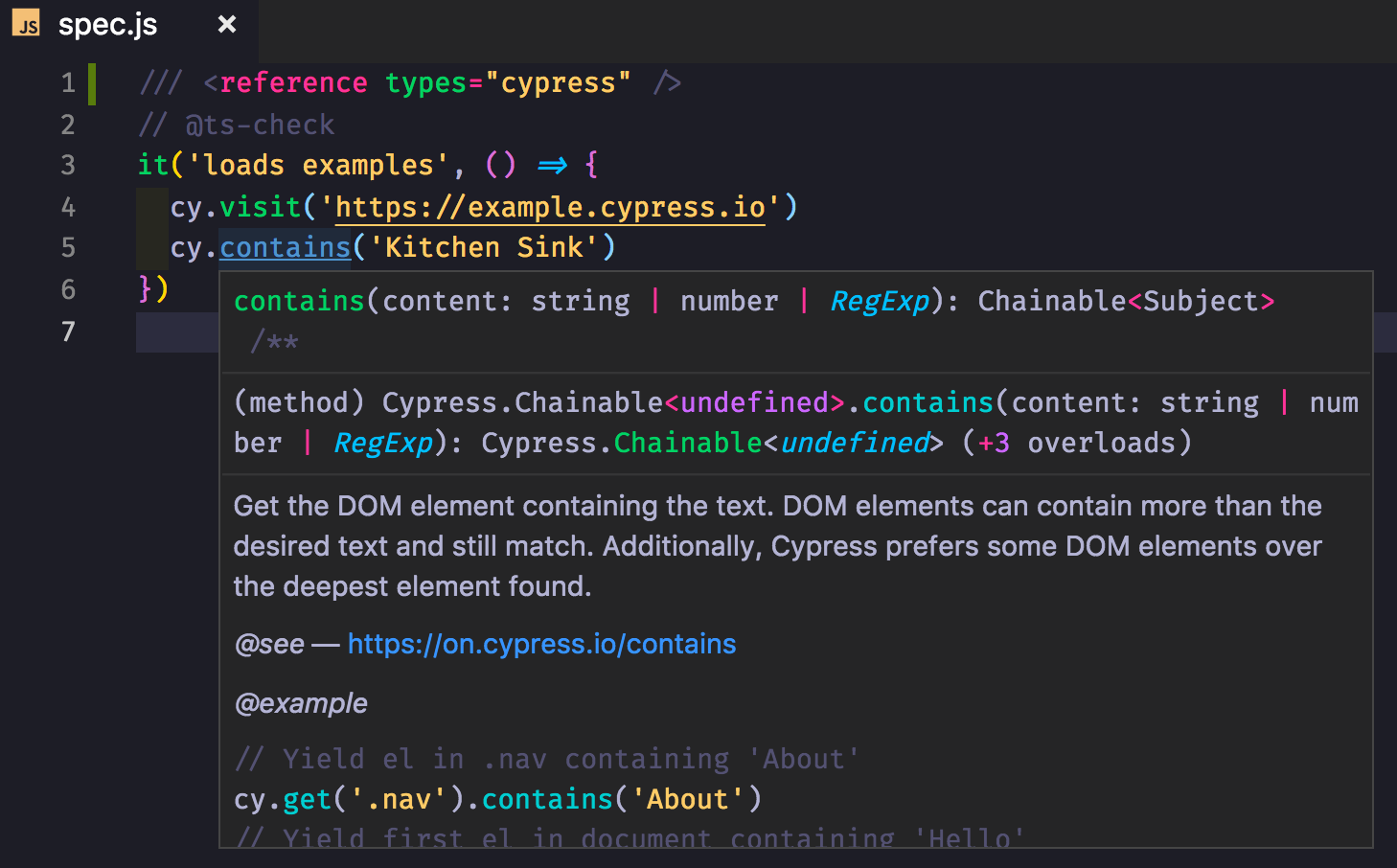 Use TypeScript With Cypress | Better world by better software